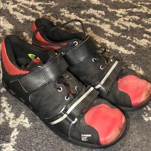 Reebok U-form Black/Red CrossFit Lifter 2.0 Shoe